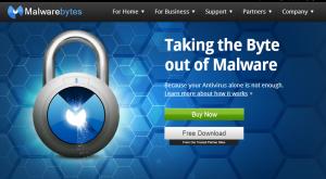 Malware Bytes malware and virus removal tool