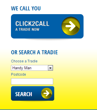 Selecting Gold Coast Handyman on the 1800 Get A Tradie website