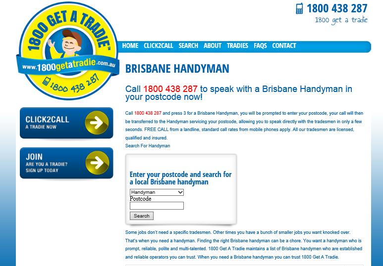 brisbane handyman page
