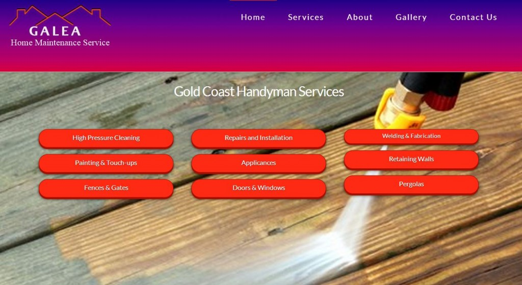 screen print galea handyman website