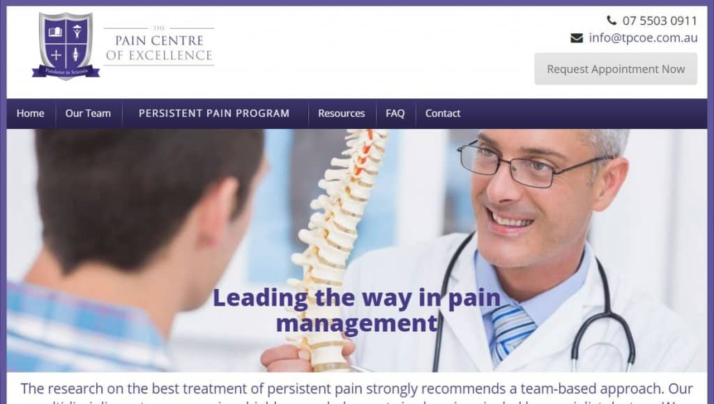 pain centre of excellence