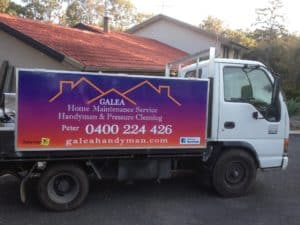 galea handyman services truck
